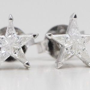 18K Kite Diamond Star S 0.26 Ct C19000280